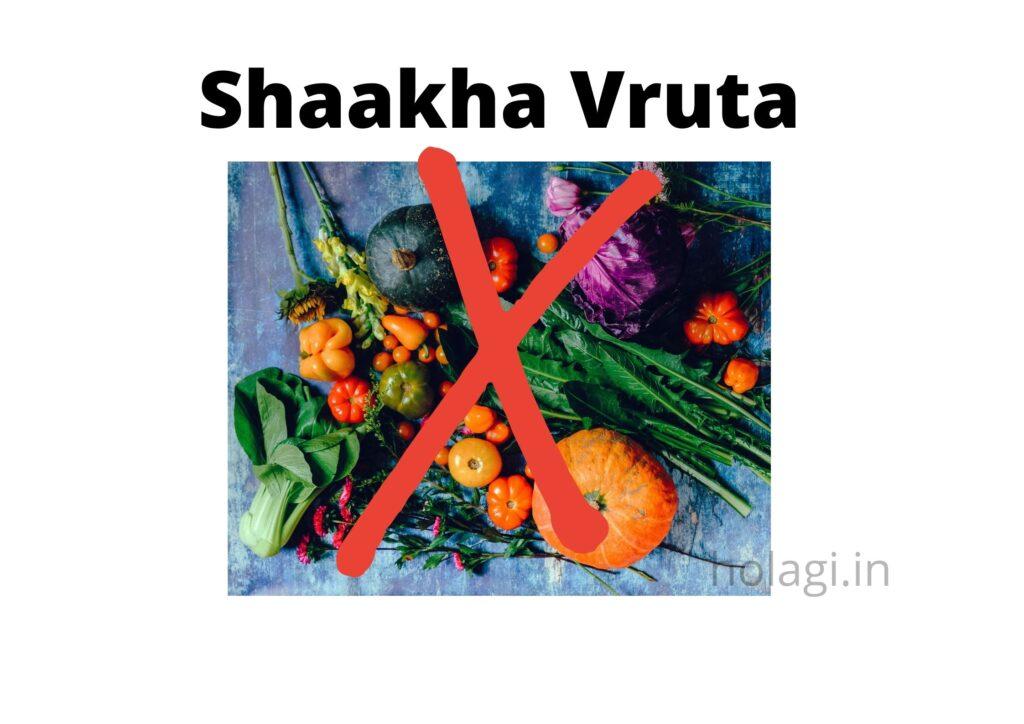 Shaakha Vruta